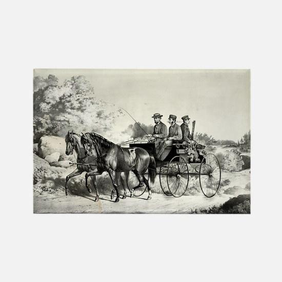A good days sport - homeward bound - 1869 Magnets