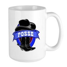 Cowboy Groom's Posse Mug