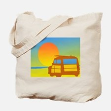 Woodies and Sunset Tote Bag