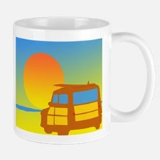 Woodies and Sunset Mugs