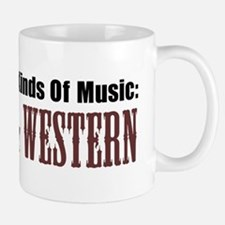 Two Kinds Music Country Western Mug