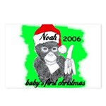 BABY'S FIRST CHRISTMAS (NOAH NAME) PERSONALIZED Po