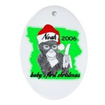 BABY'S FIRST CHRISTMAS (NOAH NAME) PERSONALIZED Or