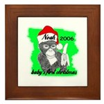 BABY'S FIRST CHRISTMAS (NOAH NAME) PERSONALIZED Fr
