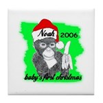 BABY'S FIRST CHRISTMAS (NOAH NAME) PERSONALIZED Ti