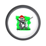 baby's first christmas Wall Clock