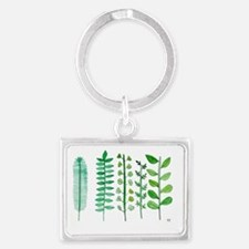 Rosemary, Thyme, Parsley, Sage, Landscape Keychain