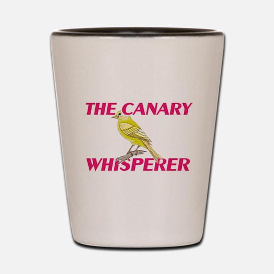The Canary Whisperer Shot Glass