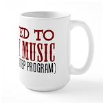 Two Step Country Music Large Mug