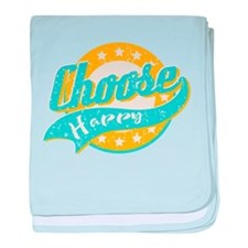 Choose Happy baby blanket