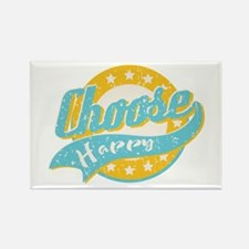 Choose Happy Rectangle Magnet (100 pack)