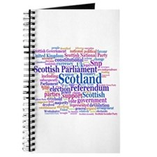 Scottish Independence Concept Cloud Journal