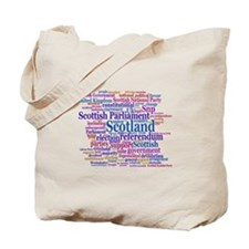 Scottish Independence Concept Cloud Tote Bag