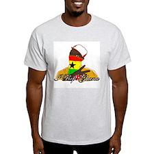 I rep Ghana Ash Grey T-Shirt