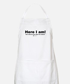 Here I am! -  BBQ Apron
