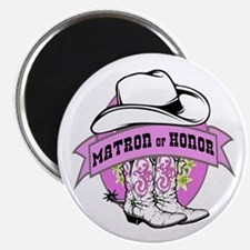 Cowgirl Matron of Honor Magnet
