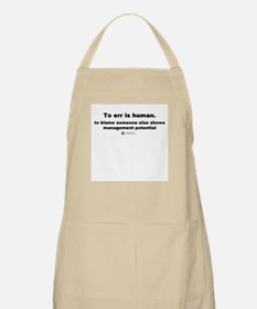 To err is human -  BBQ Apron