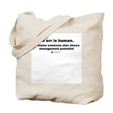 To err is human -  Tote Bag