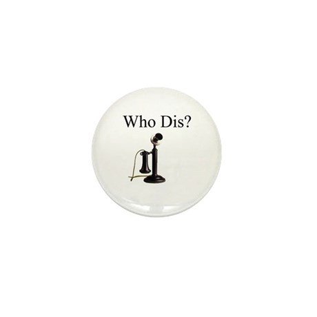 Howard Stern, crazy alice Mini Button (10 pack)