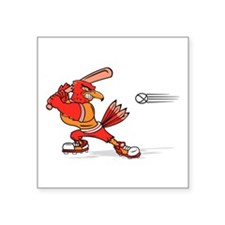 cardinal baseball Sticker