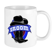 Cowboy Groom Small Mug