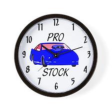 Pro Stock Clock Wall Clock