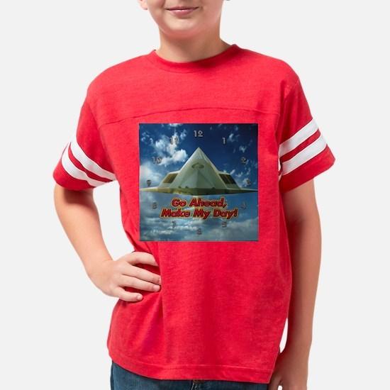 clock-day Youth Football Shirt