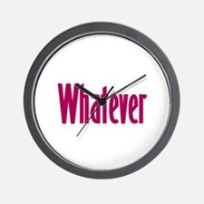 whatever t-shirts & more, Wall Clock