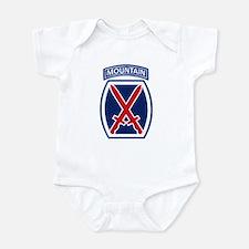 10th Mountain Division Infant Bodysuit