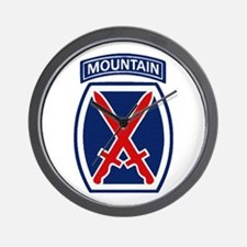 10th Mountain Division Wall Clock