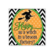 "Broom Factory Square Sticker 3"" x 3"""