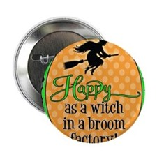 "Broom Factory 2.25"" Button"