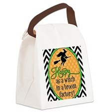 Broom Factory Canvas Lunch Bag