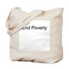 End Poverty T-Shirts and Appa Tote Bag