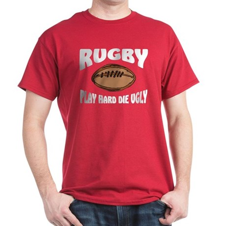 Funny Rugby Dark T-Shirt