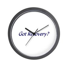 Got Recovery t-shirts & more Wall Clock