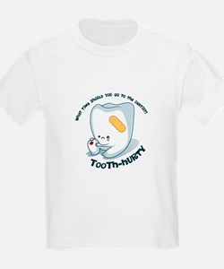Tooth-Hurty - Dark Text T-Shirt