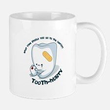 Tooth-Hurty - Dark Text Small Mug