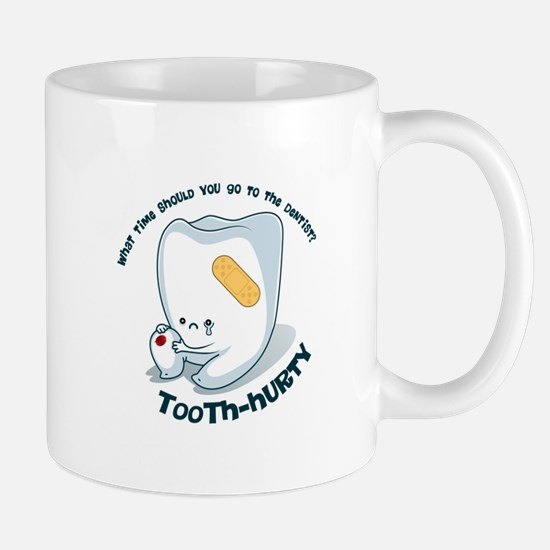 Tooth-Hurty - Dark Text Small Mug