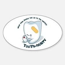 Tooth-Hurty - Dark Text Decal