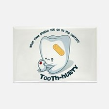 Tooth-Hurty - Dark Text Rectangle Magnet (100 pack