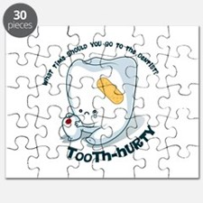 Tooth-Hurty - Dark Text Puzzle