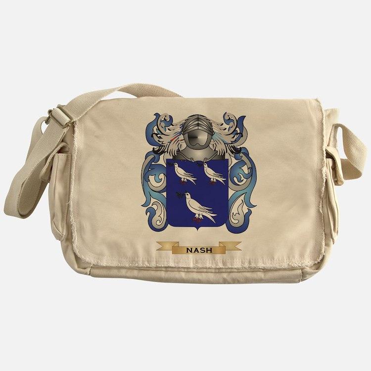 Nash Coat of Arms (Family Crest) Messenger Bag