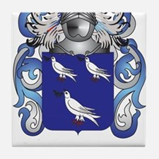 Nash Coat of Arms (Family Crest) Tile Coaster