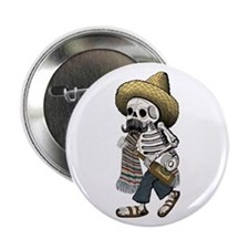 "Calavera 2.25"" Button"
