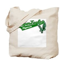 Super Eagles soccer tee Tote Bag