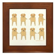 One of These Retrievers! Framed Tile