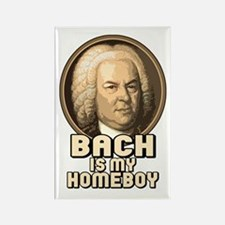 Bach is my Homeboy Rectangle Magnet