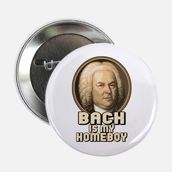 Bach is my Homeboy Button