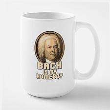 Bach is my Homeboy Large Mug